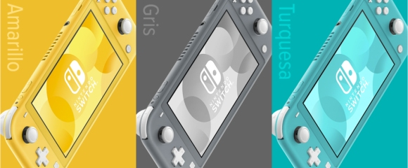 Colores Nintendo Switch Lite