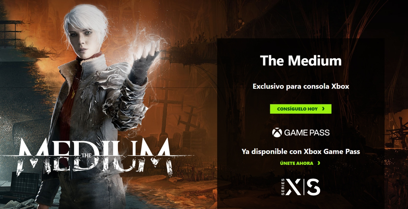 The Medium, terror entre dos mundos con Xbox Game Pass